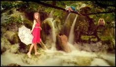 Brielle in the jungle